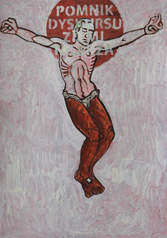 2010, 100x70cm, tempera jajkowa na tekturze / egg tempera on canvas