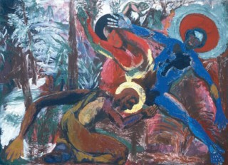 987, 130x180cm, olej na płótnie / oil on canvas