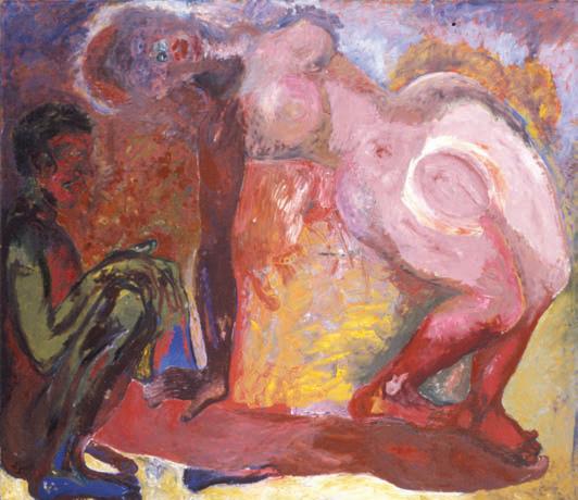 1988, 180x200, olej na płótnie / oil on canvas