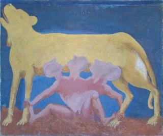 1985, 150x180cm, akryl na płótnie / acryl on canvas