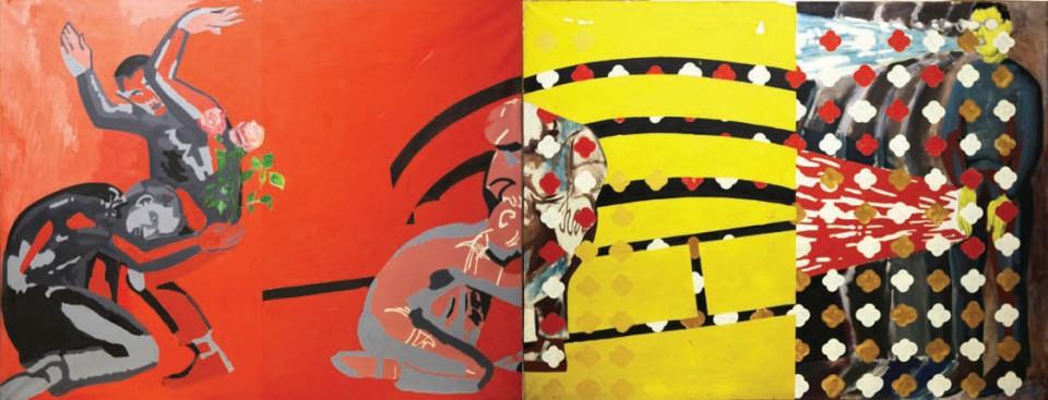 1987, 115x260cm, olej na płótnie / oil on canvas