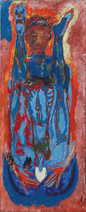 1987, 200x81cm, olej na płótnie / oil on canvas