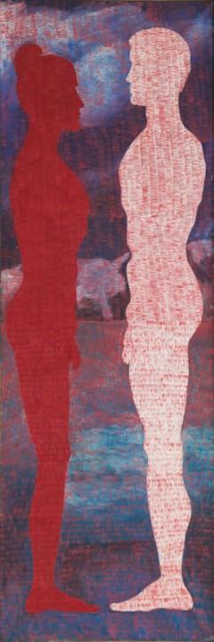 1981, 210x70cm, olej na płótnie / oil on canvas