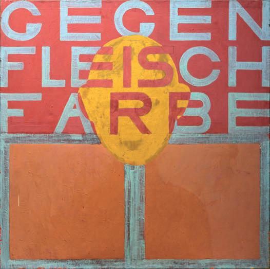 1984/94, 130x130cm, tempera jajkowa na płótnie / oil on canvas