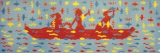 1982, 70x210cm, akryl na płótnie / acryl on canvas
