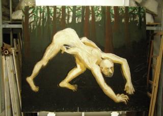 1986, 180x210cm, tempera jajkowa