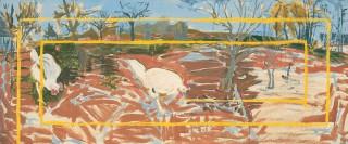1983, 66x160cm, akryl na płótnie / acryl on canvas