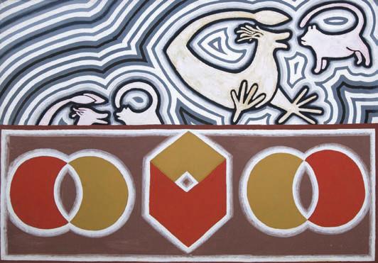 1988/89, 100x140cm, olej na płótnie / oil on canvas