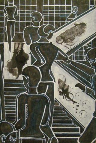 2006, 136x100cm, tempera jajkowa na płótnie / egg tempera on canvas
