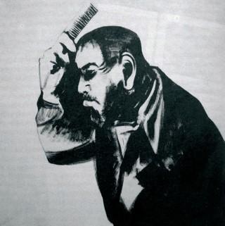 1988. 136x136cm, olej na płótnie / oil on canvas