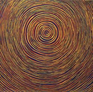 1980, 90x90cm, olej na płótnie / oil on canvas