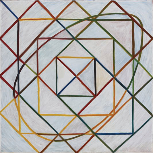 1981, 90x90cm, olej na płótnie / oil on canvas