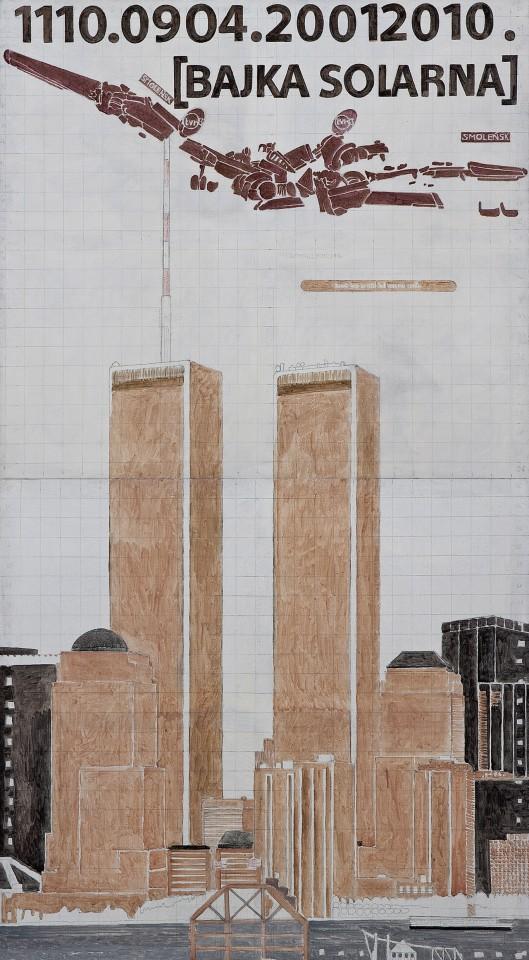 2010/2011, 248x136cm, tempera jajkowa na płótnie / egg tempera on canvas