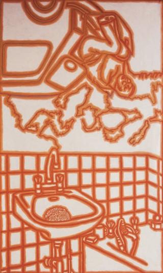 1988, 300x180cm, olej na płótnie / oil on canvas