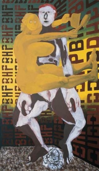 1987, 300x200cm, olej na płótnie / oil on canvas