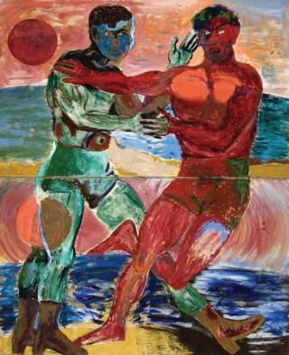1986, 184x150cm, tempera jajkowa