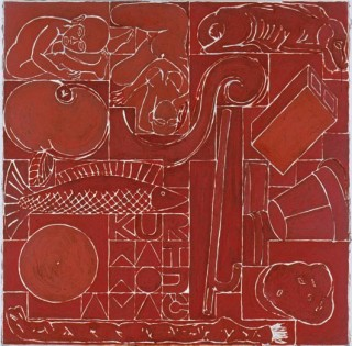 1998, 130x130cm, tempera jajkowa