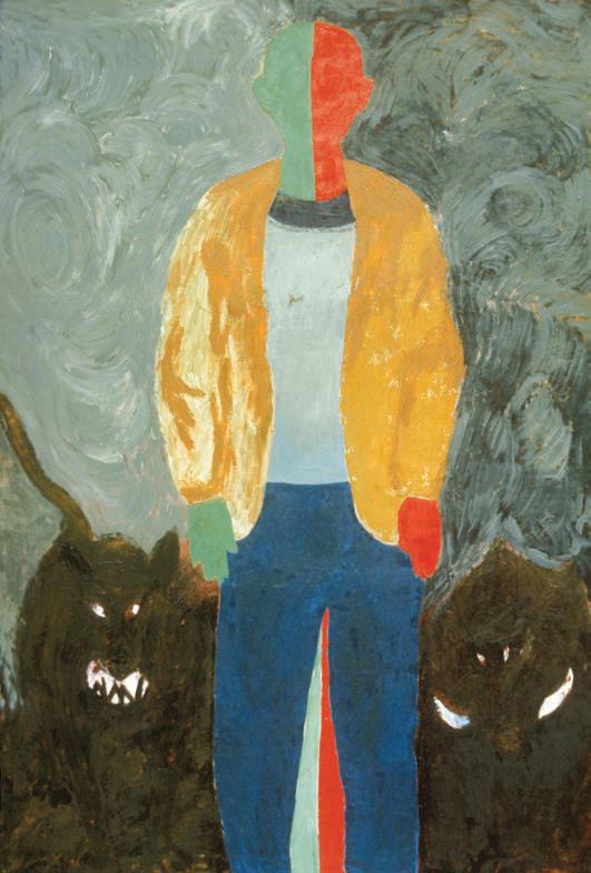 1984, 210x136cm, tempera, olej na płótnie / oil on canvas