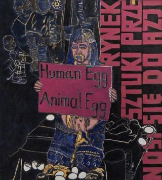2010/2011, 136x124cm, tempera jajkowa na płótnie / egg tempera on canvas