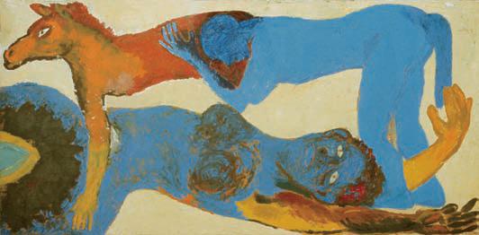 1988, 90x136cm, olej na płótnie / oil on canvas