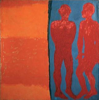 1984, 136x136cm, olej na płótnie / oil on canvas