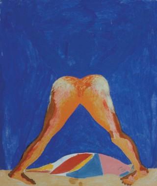 1985, 180x150cm, akryl na płótnie / acryl on canvas