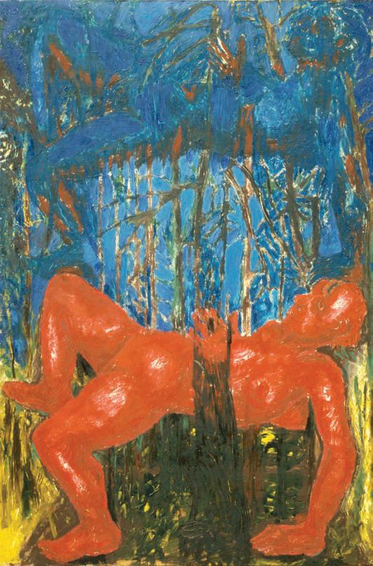 1989, 136x90cm, tempera jajkowa